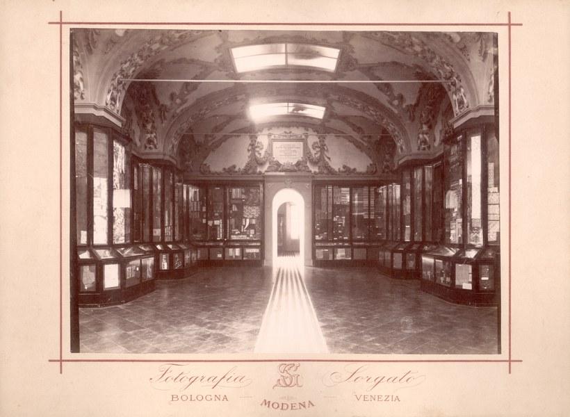 Sala Gandini del Museo Civico. Foto Sorgato storica.jpg